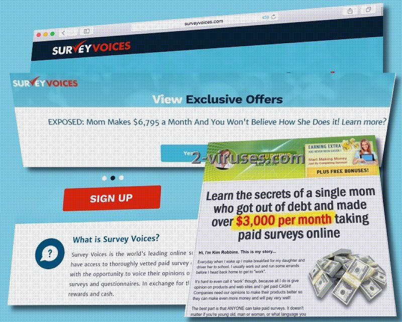 Survey Voices ads