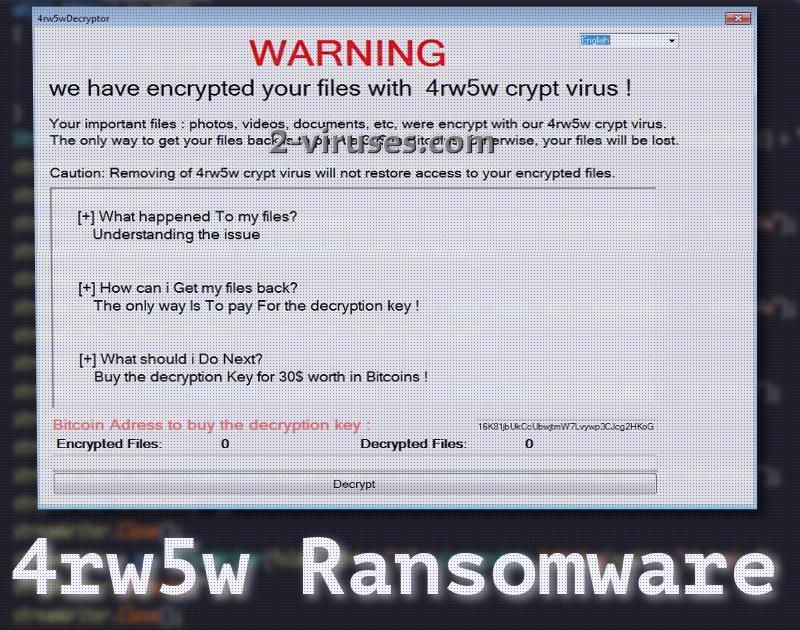 4rw5w ransomware virus