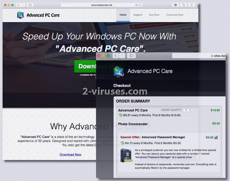 Advanced PC Care virus