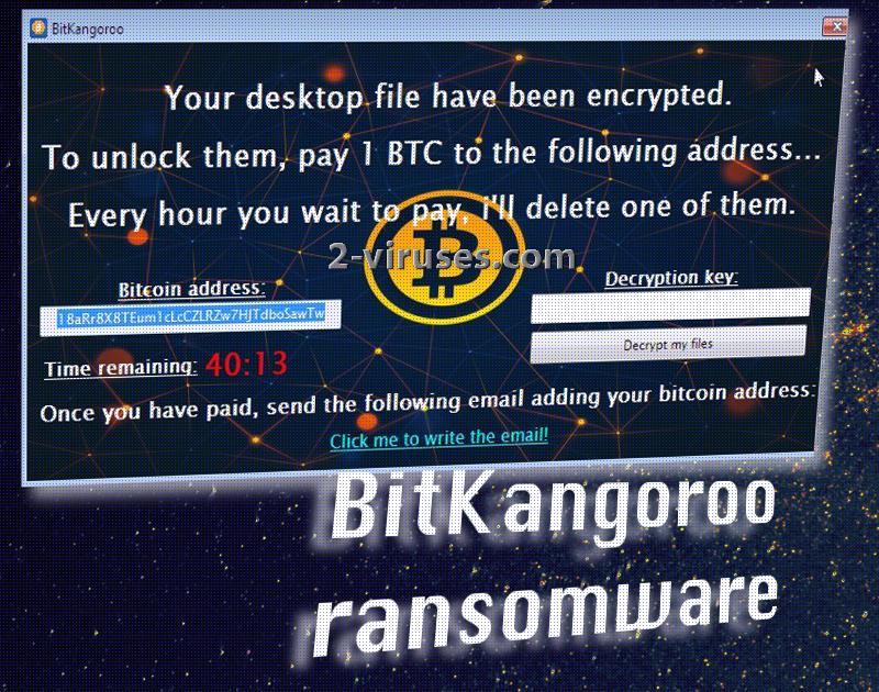 BitKangoroo ransomware virus