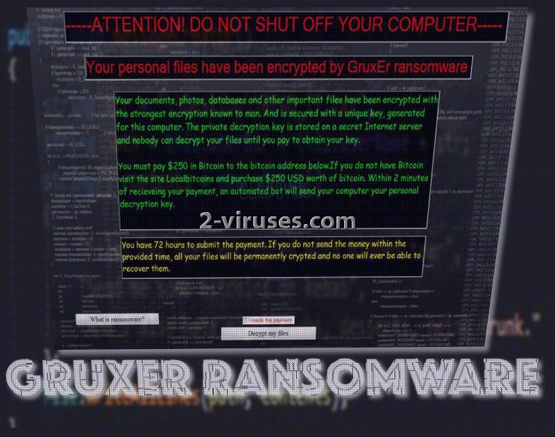 Gruxer ransomware