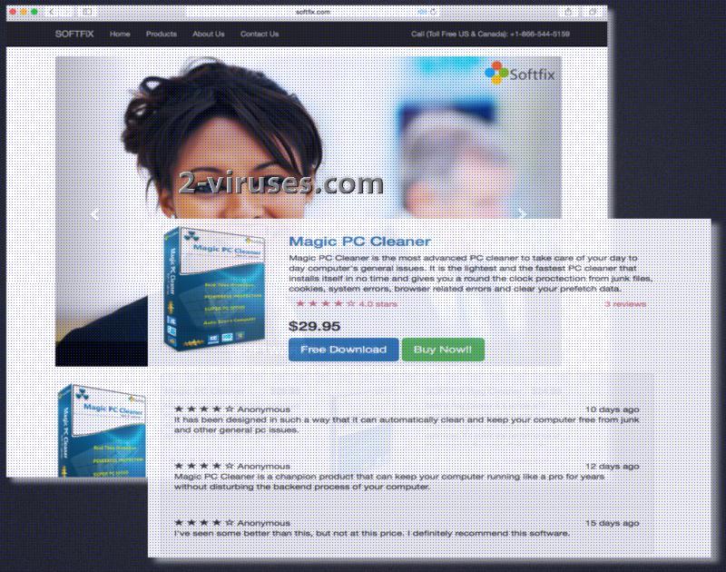 Magic PC Cleaner virus