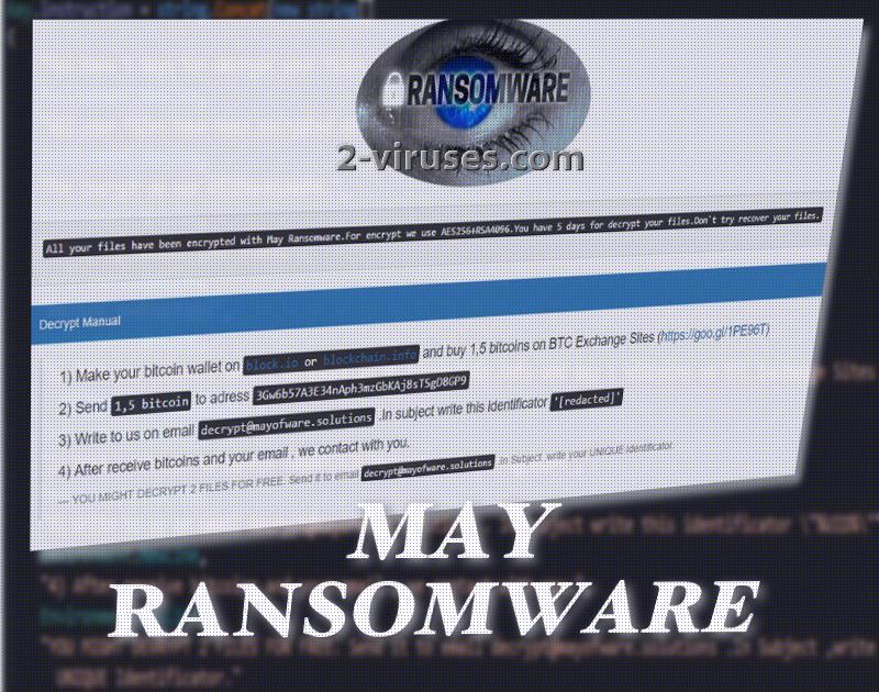 May ransomware
