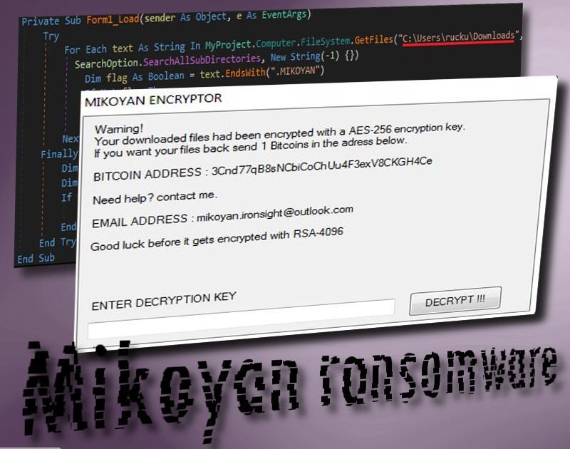 Mikoyan ransomware virus
