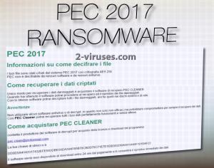 PEC 2017 ransomware
