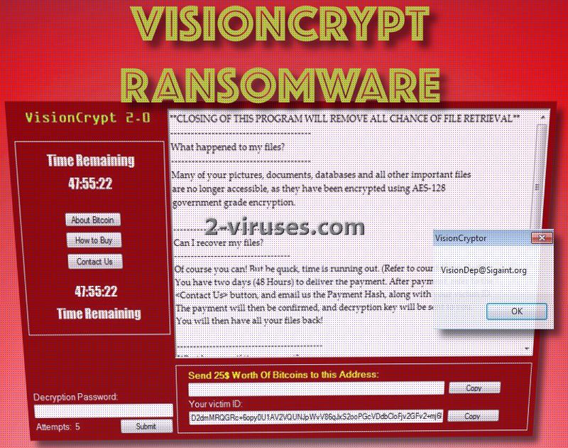 VisionCrypt ransomware