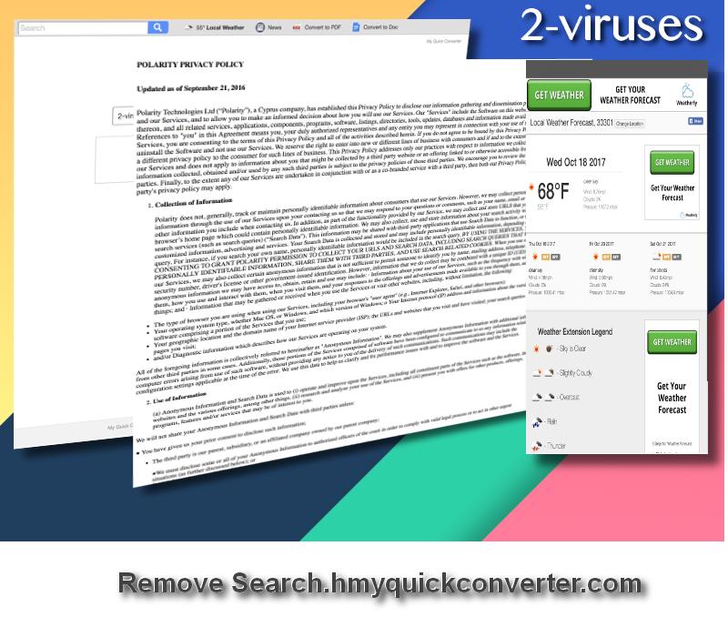 Search.hmyquickconverter.com virus remove