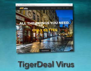 TigerDeal adware virus