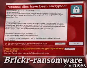 BrickR Ransomware Virus