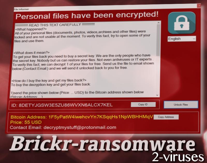 brickr ransomware virus remove