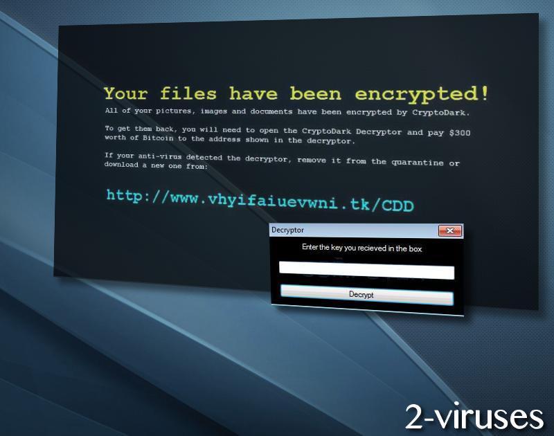 CryptoDark virus