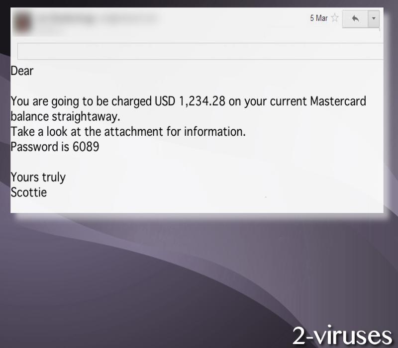 Karo virus email