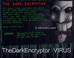 TheDarkEncryptor virus