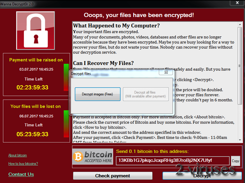 FakeCry ransomware virus - How to remove - 2-viruses com