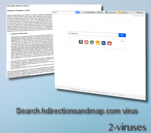 Search.hdirectionsandmap.com virus