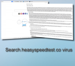 Search.heasyspeedtest.co virus