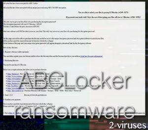 ABCLocker ransomware virus