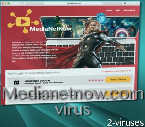 Medianetnow.com pop-up