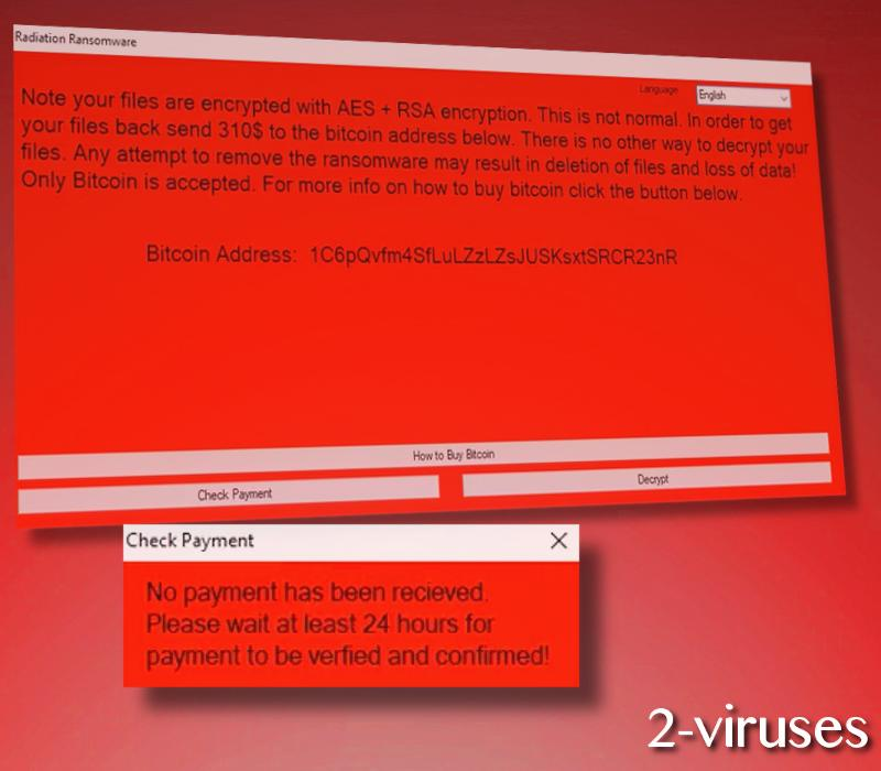Radiation ransomware