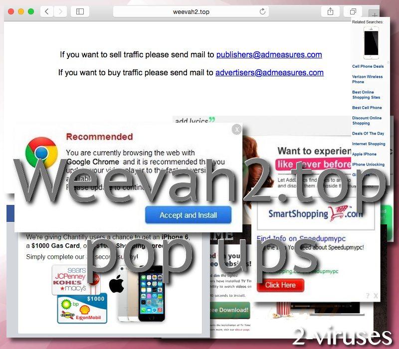 Weevah2.top pop-up