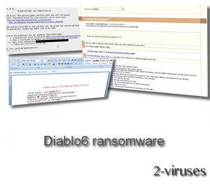 Diablo6 ransomware