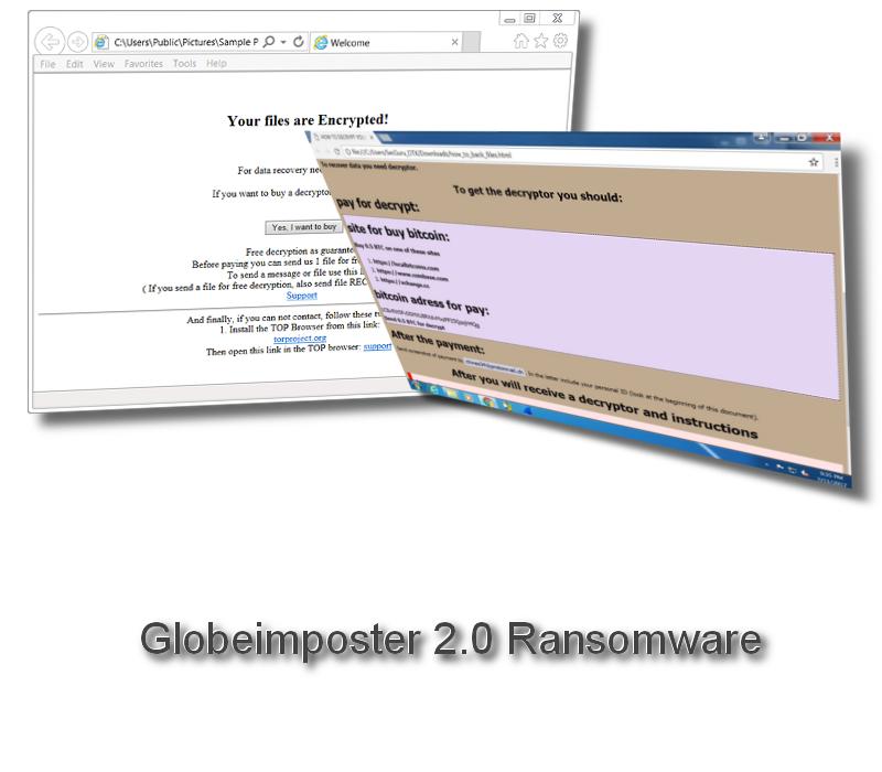 Globeimposter 2.0 Ransomware
