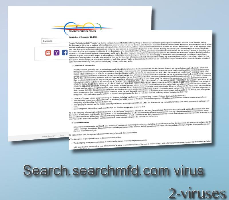 Search.searchmfd.com virus remove