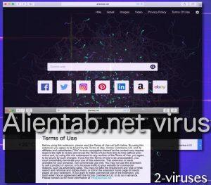 Alientab.net virus
