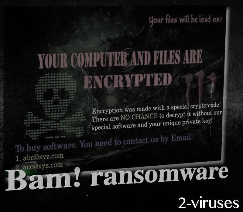 Bam! ransomware virus