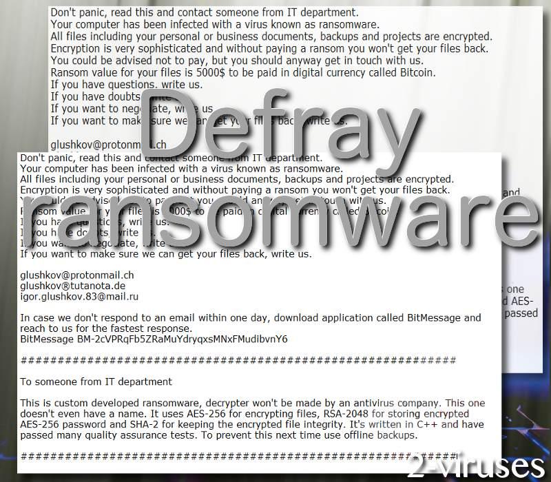 Defray virus