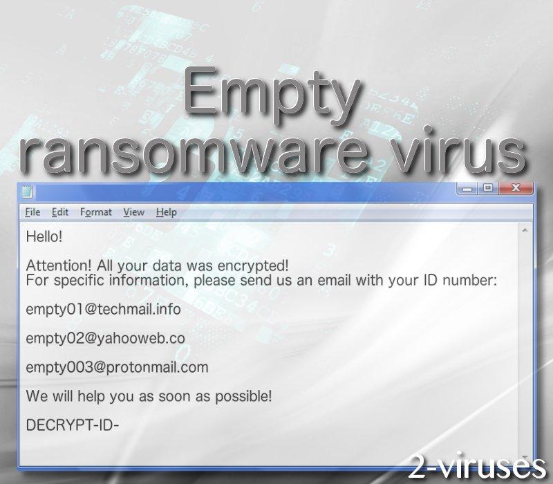 Empty virus