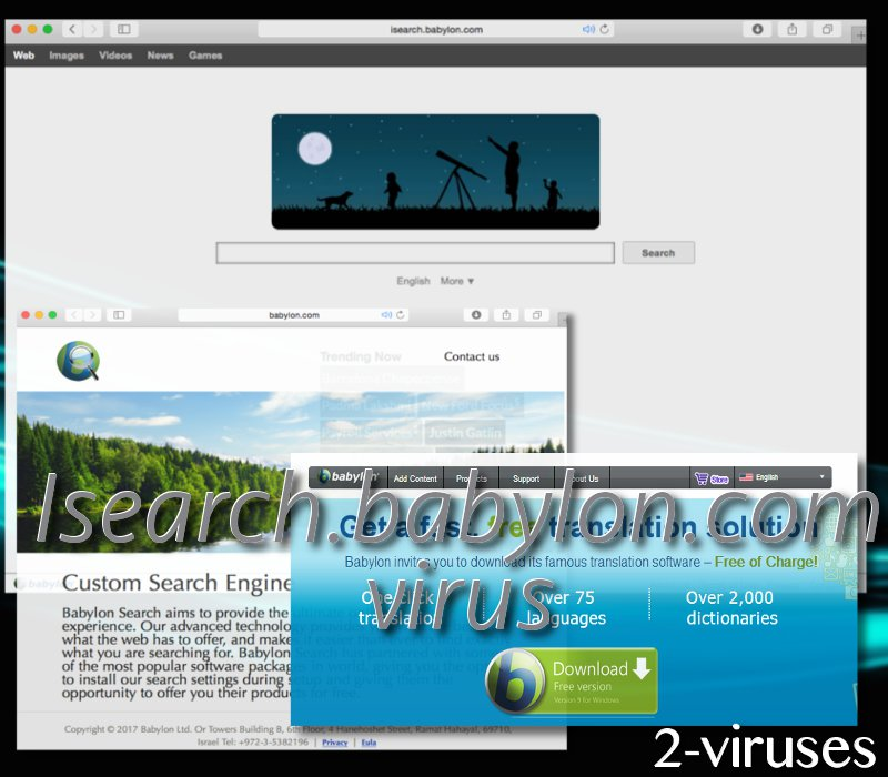 iSearch babylon com virus - How to remove - 2-viruses com