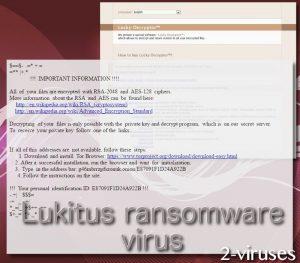 Lukitus ransomware virus