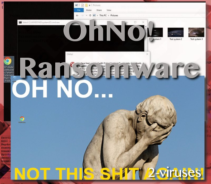 OhNo! ransomware virus