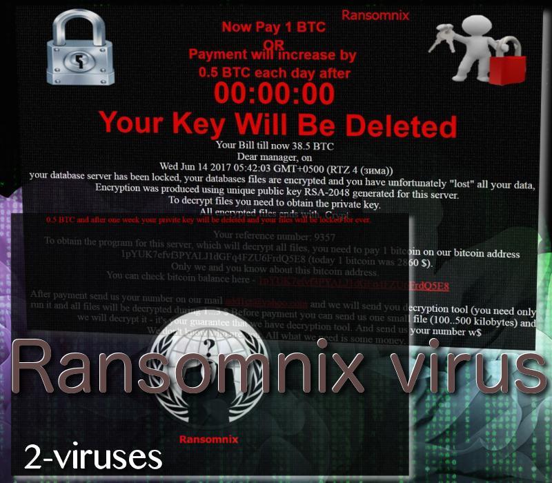 Ransomnix ransomware virus
