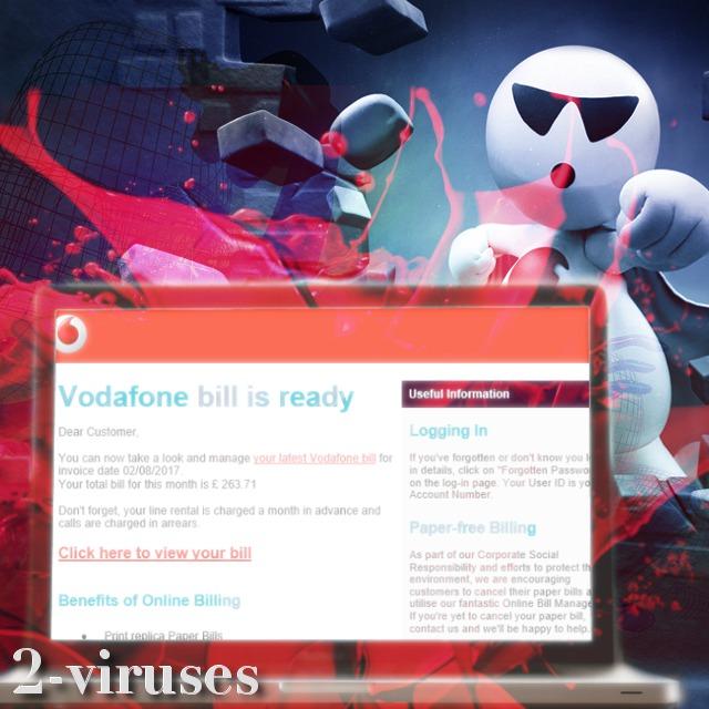 Vodafone spam campaign