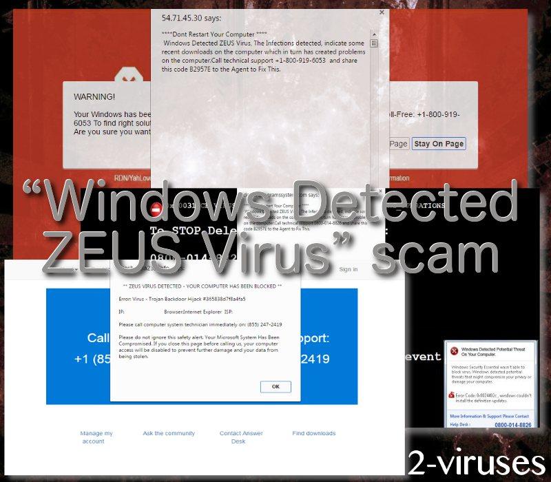 fix zeus virus