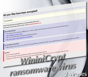 WininiCrypt ransomware virus