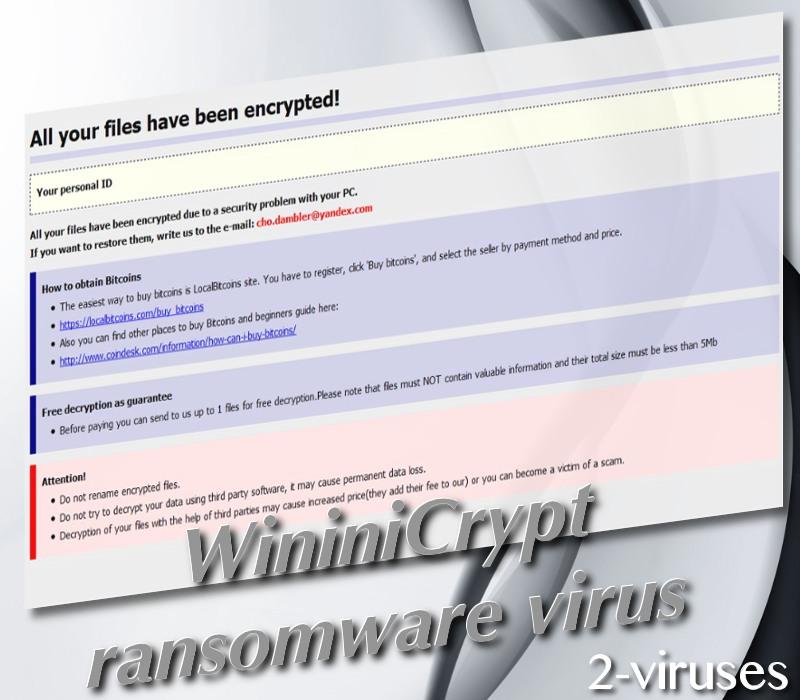 WininiCrypt virus
