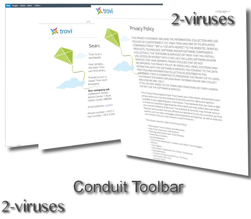 Conduit Toolbar