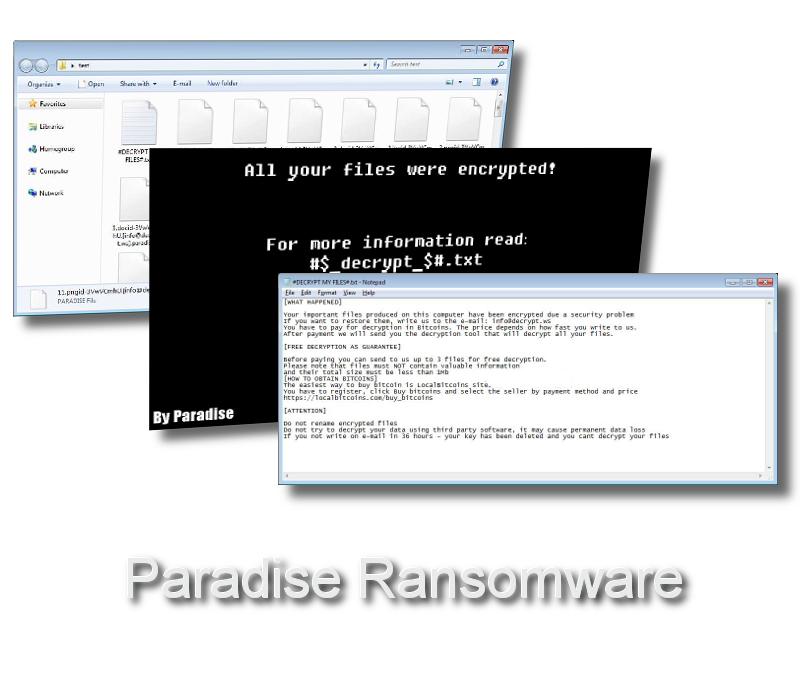 Paradise-ransomware-virus-remove