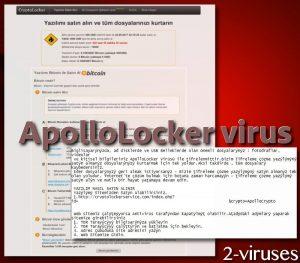 ApolloLocker ransomware virus