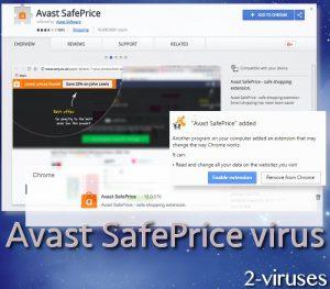 Avast SafePrice virus