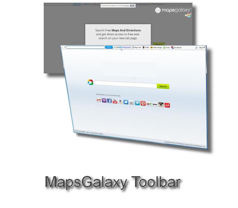 MapsGalaxy Toolbar  How to remove  2virusescom