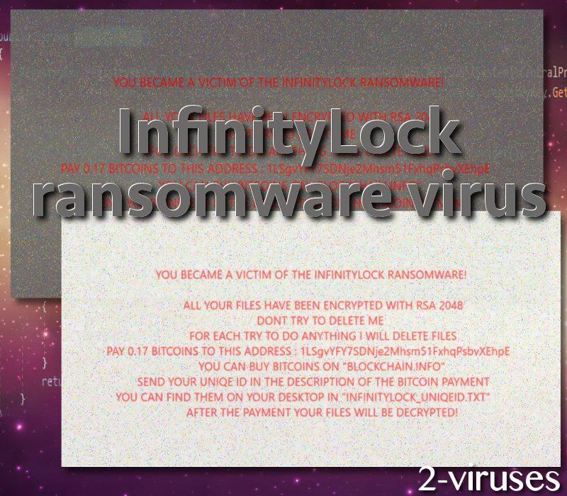 InfinityLock ransomware virus