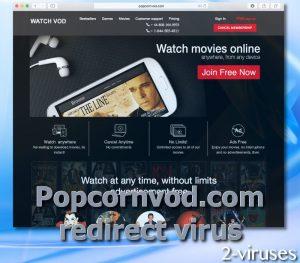 Popcornvod.com redirect virus