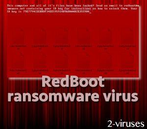 RedBoot ransomware virus