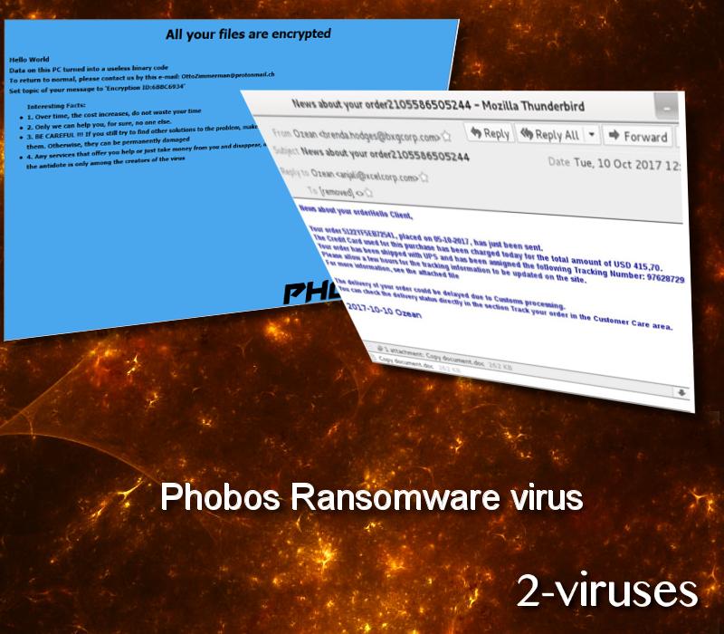 Phobos Ransomware virus - How to remove - 2-viruses com