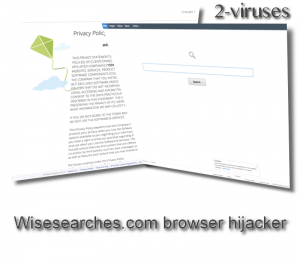 Wisesearches.com browser hijacker