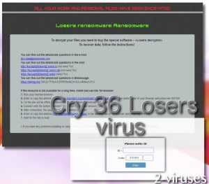 Cry36 Losers virus